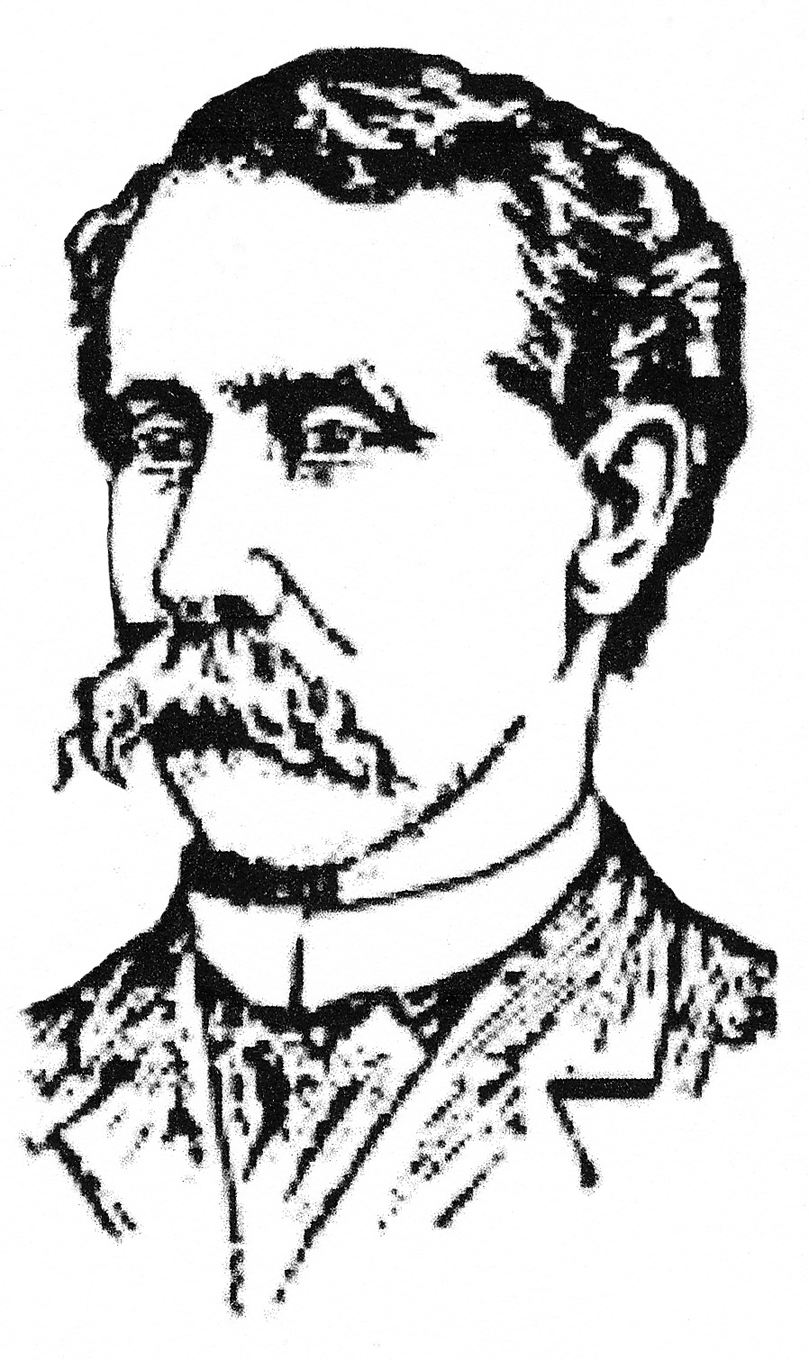 w b moses sons once washington s largest furniture store Modern Day Mullet sketch of w b moses from the april 27 1889 edition of the evening star