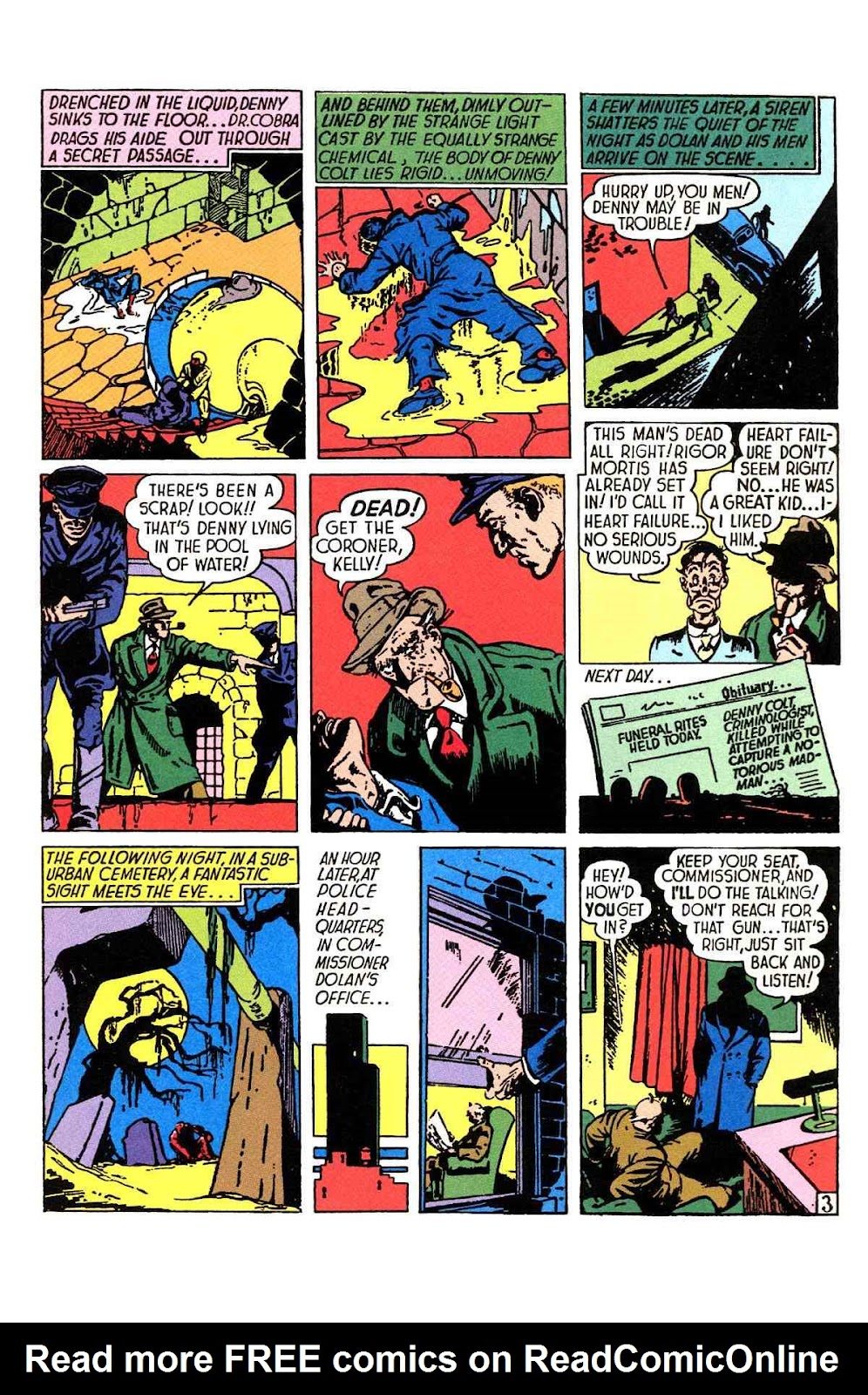 Read online Will Eisner's The Spirit Archives comic -  Issue # TPB 1 (Part 1) - 4