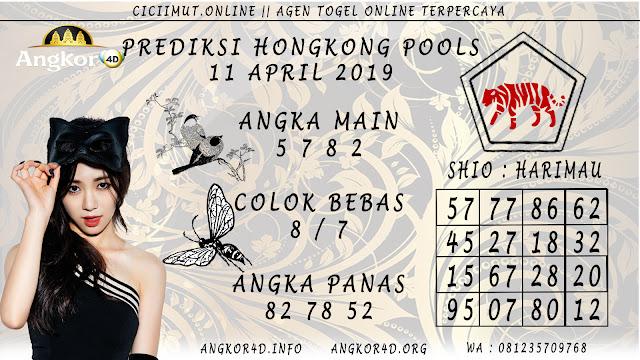 Prediksi Angka Jitu HONGKONG POOLS 11 APRIL 2019