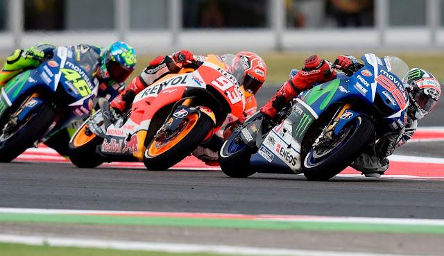 berita motogp : Akankah Marquez membantu Lorenzo untuk posisi 2 ?