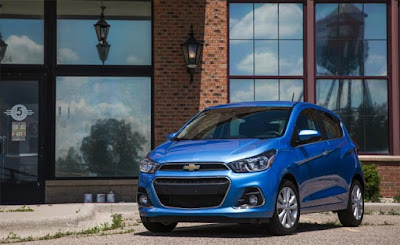 2016 Chevy Spark Review