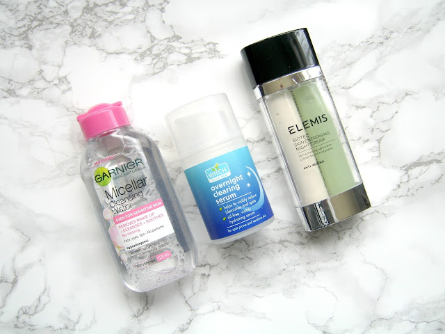 garnier micellar water witch overnight clearing serum elemis biotec