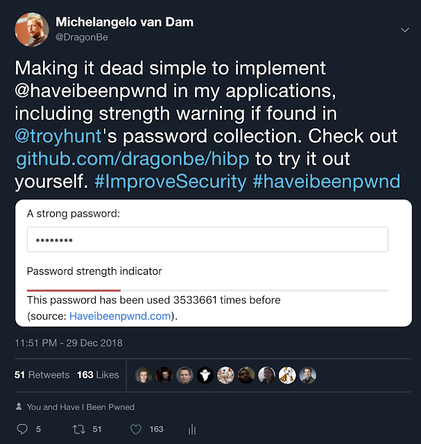 Improve password security