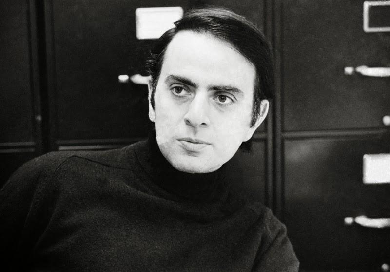 Un joven Carl Sagan