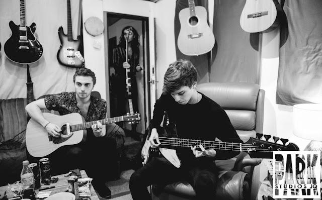The Carnival Club EP | Birmingham Recording Studio | Park Studios JQ | bassist