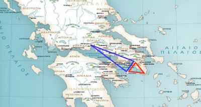 Τα ιερά τρίγωνα της ελληνικής αρχαιότητας και η καλά κρυμμένη σημασία τους!!!