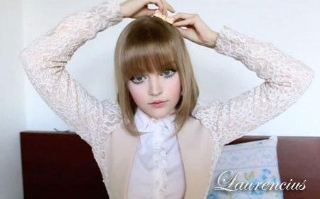 Lana Del Rey make up transformation by Anastasiya Shpagina