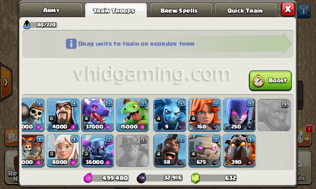 clash of clans new troops icon