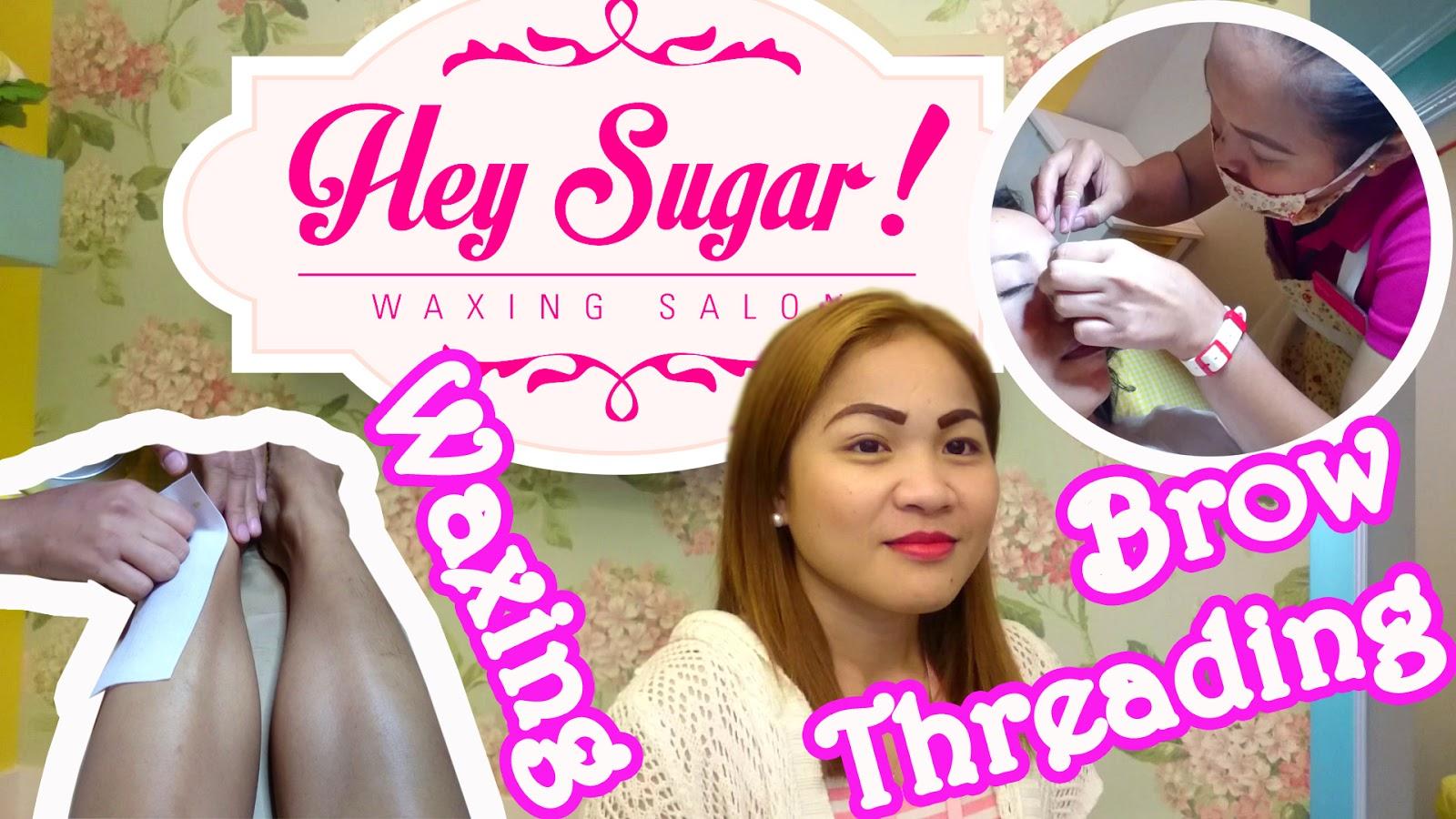 Hey Sugar Experience Brow Threading And Leg Waxing God Is Good