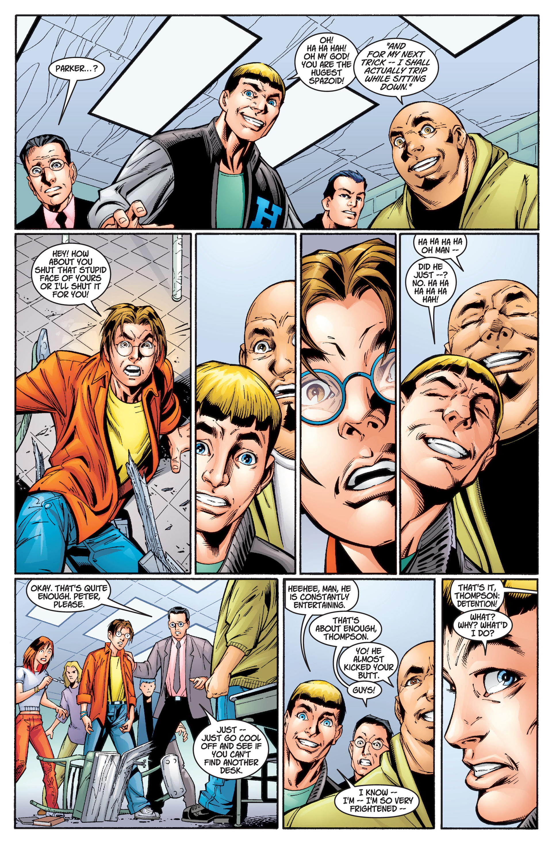 Read online Ultimate Spider-Man (2000) comic -  Issue #2 - 4