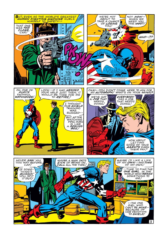 Read online Captain America (1968) comic -  Issue #108 - 4