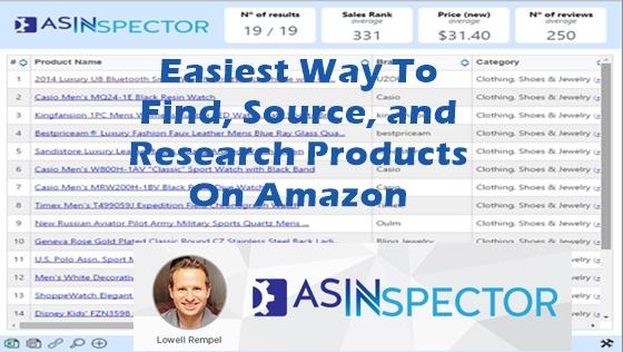 ASINSpector SOFTWARE Amazon. Shopify, E-commerce Research Tool is a unique and proven way to get access to millions of additional buyers