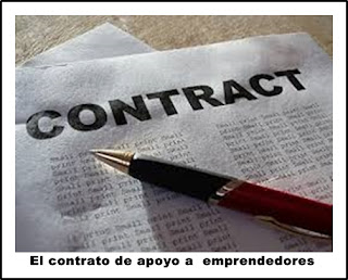 El contrato de apoyo a  emprendedores