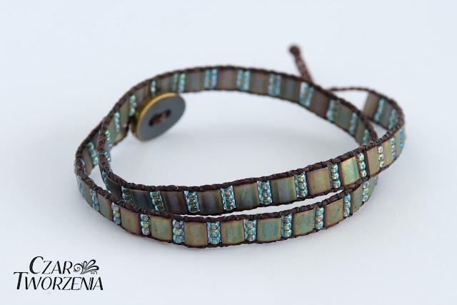 Wygodna bransoletka handmade rękodzieło