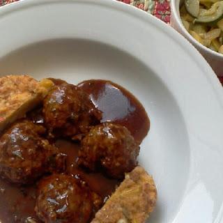 Lamb Merguez Meatballs