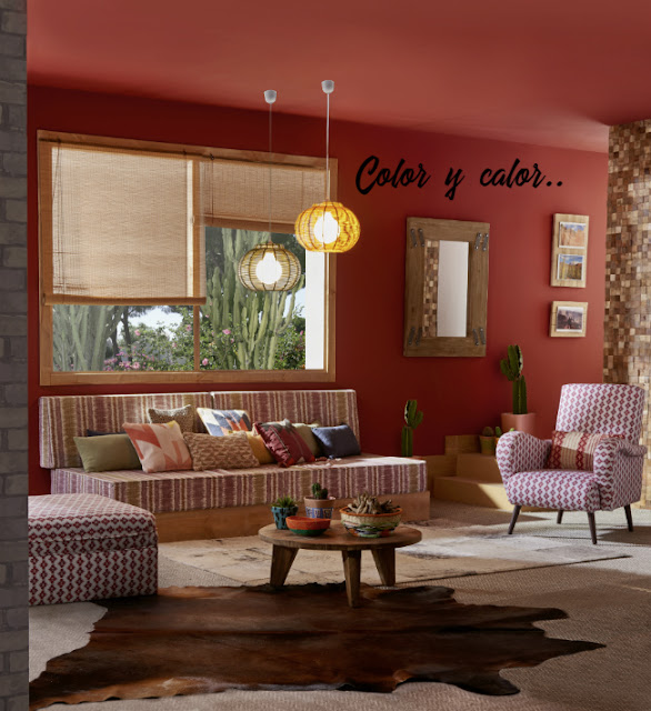pintura color ventanas alfombras