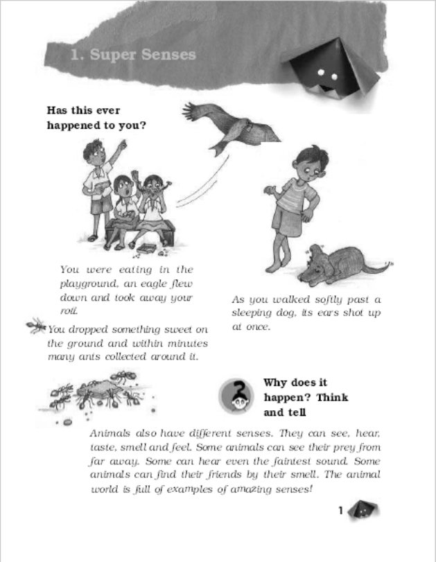 NCERT Science Class-5 : For English Medium Students PDF Book