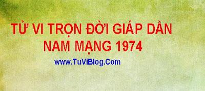 Tu Vi Tron Doi Giap Dan 1974