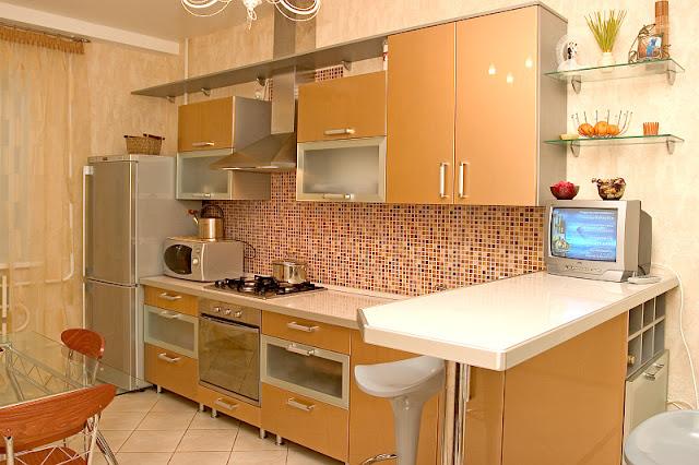Кухни из акрила фото