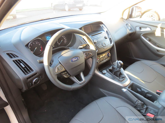 Novo Ford Focus 2016 - interior