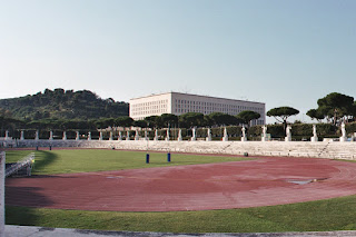 Mussolini had hoped his new stadium in Rome would host the Olympic Games in 1944