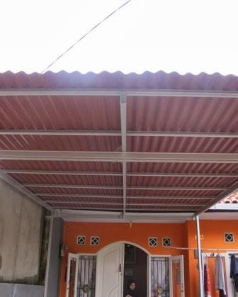 harga atap baja ringan asbes di karawang perodua m