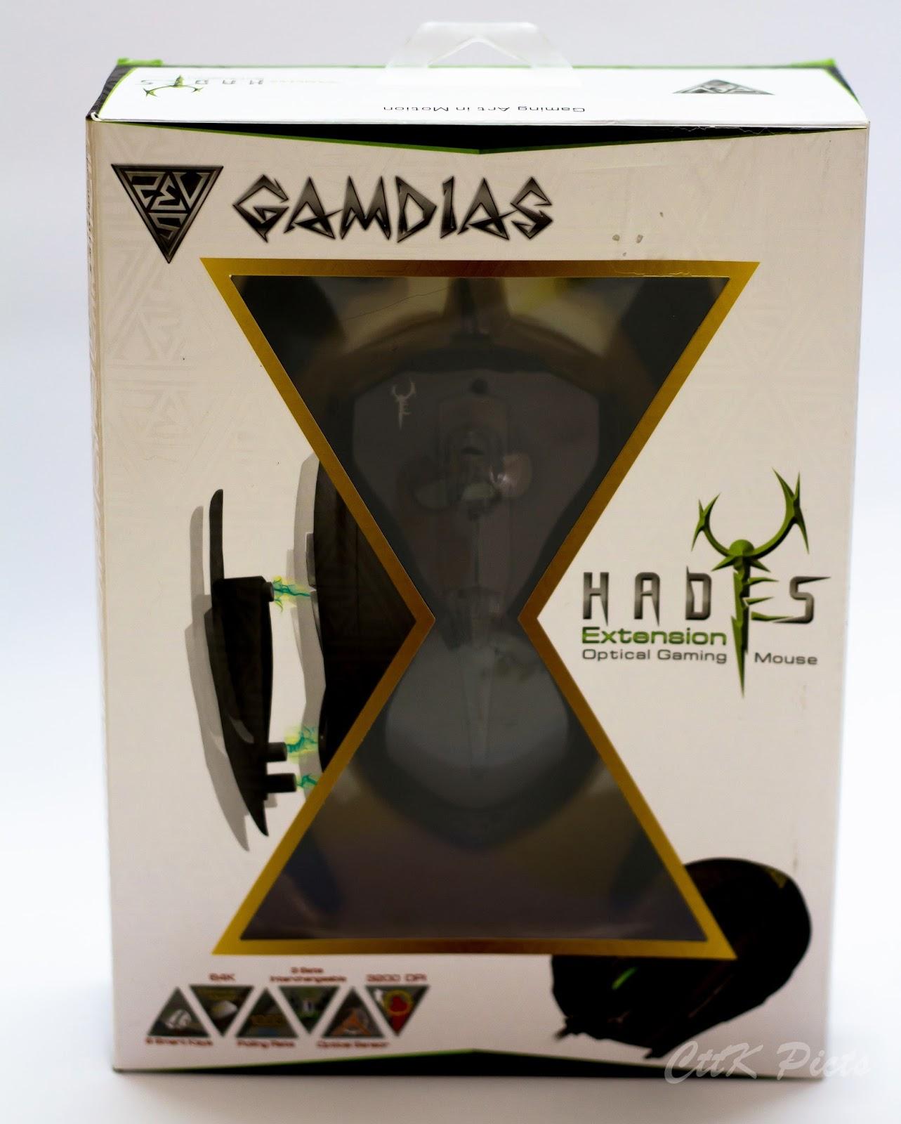 Gamdias Hades Extension Optical Gaming Mouse 54