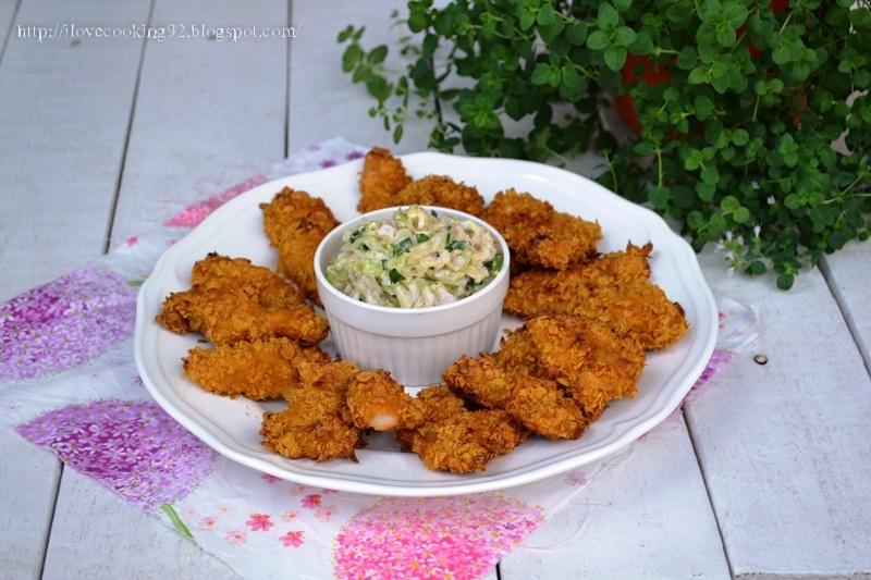 I Love Cooking Kurczak W Platkach Kukurydzianych