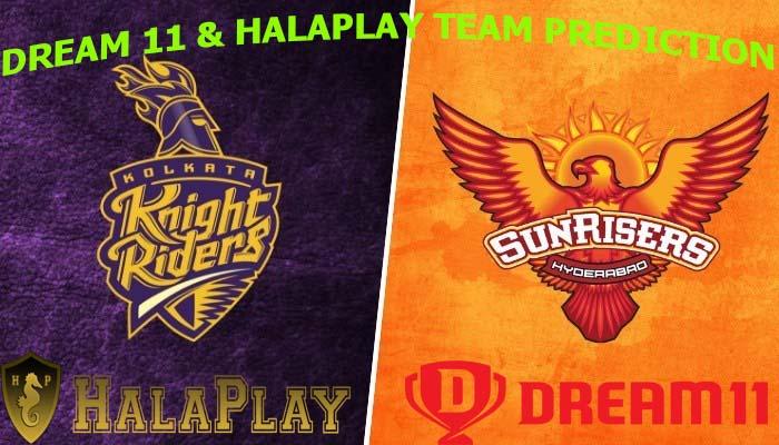 KKR vs SRH 2019: Dream11 & Halaplay team Prediction, Playing 11