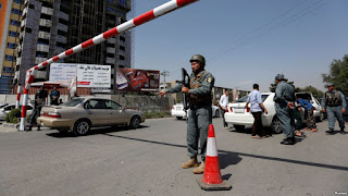 At least 7 dead in explosion inside Afghan 'Green Zone'