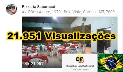Pizzaria Saborucci - Sorriso - MT