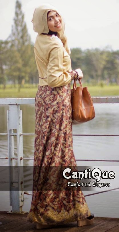 20 Contoh Model Baju Pesta Muslim Modern Remaja Terbaik ...