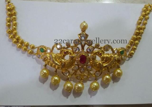 Gold Beads Armband