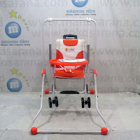 Baby Swing & Chair Stroller Tajimaku BS203 Musik Orange