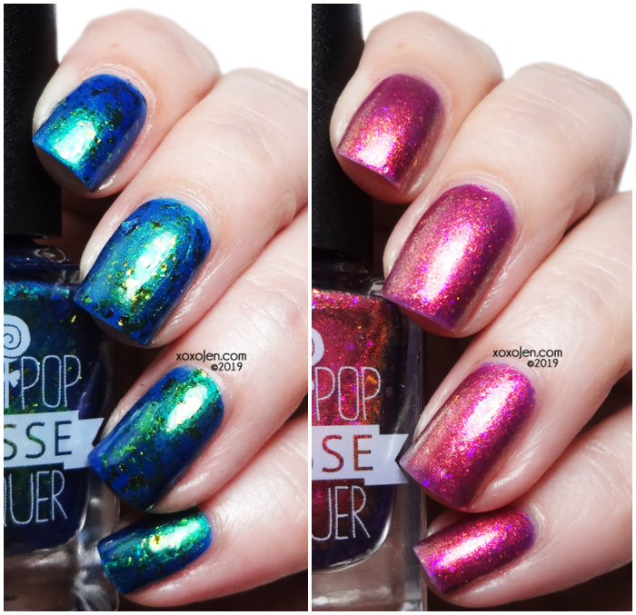 xoxoJen's swatch of Lollipop Posse Indie Expo Canada Duo