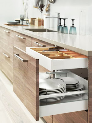 Tips Merapikan Interior Kitchen Set Berukuran Mini