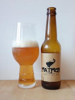 Matmor Elephant's Choice IPA India Pale Ale dorado y en botella