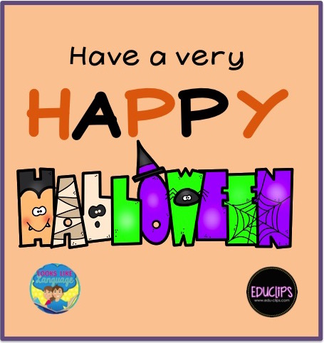 Happy Halloween! Thanks to Educlips!