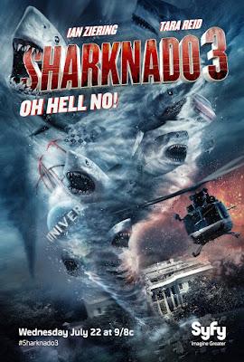 Sharknado 3: Oh Hell No! Poster