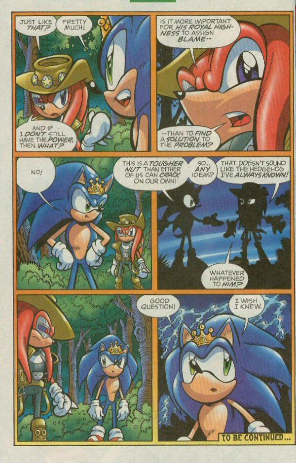 Read online Sonic The Hedgehog comic -  Issue #140 - 24