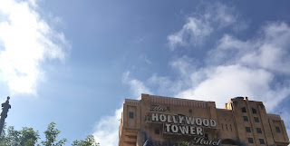 Hollywood Tower Hotel Sign California Adventure