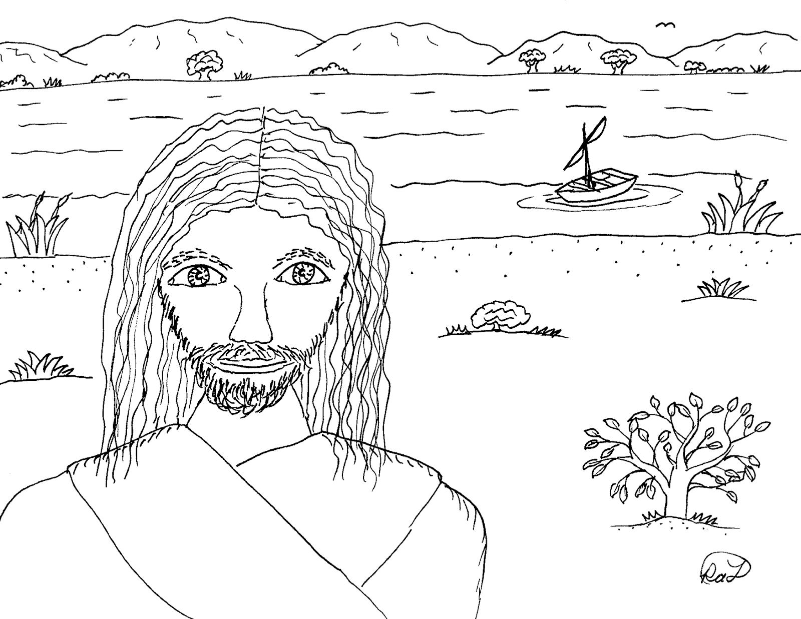 free coloring pages galilee - photo#4