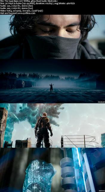 The Guardians 2017 BRRip 480p Dual Audio Hindi