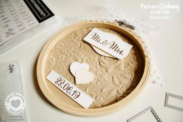 Hochzeit Design Team Papierversuchung