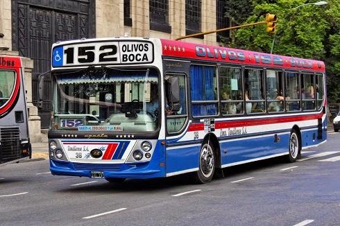 ônibus em Buenos Aires