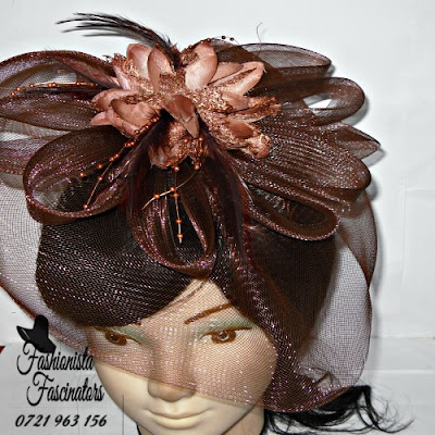Buy brown hats and fascinators Nairobi Kenya