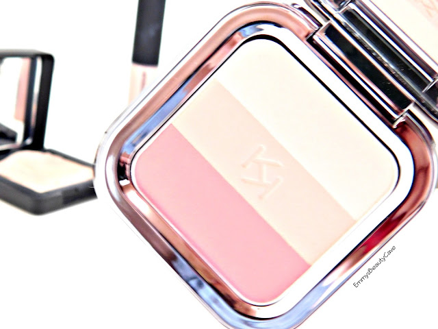 KIKO Shade Fusion Trio Blush Peach Rose