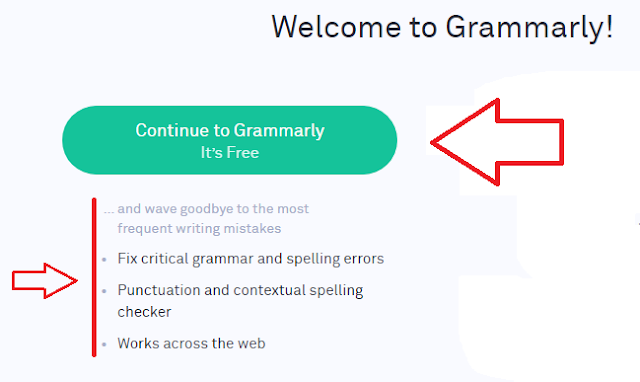 Grammarly premium free account created