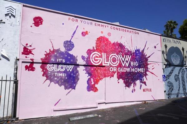 GLOW season 1 Emmy FYC mural ad