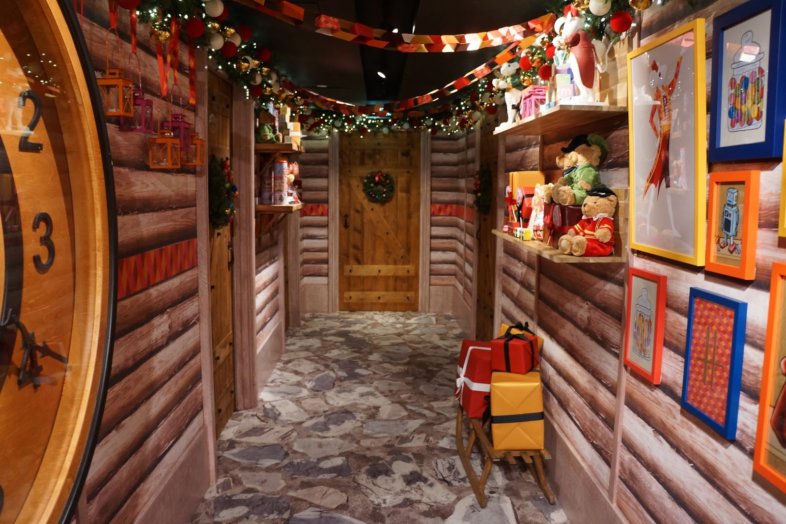 harrods christmas grotto 2015 waiting area for santa